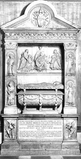 Pietro Riario - Tomb of Cardinal Pietro Riario in Santi Apostoli