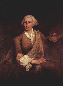 Francesco Guardi, peint par Pietro Longhi, 1764, Venise, Ca' Rezzonico