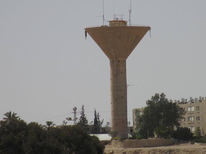 מגדל המים במצפה רמון