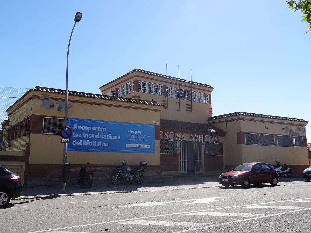 Piscina municipal del mol nou viquip dia l for Piscina municipal