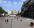 Place Georges-Pompidou, Paris April 2011.jpg