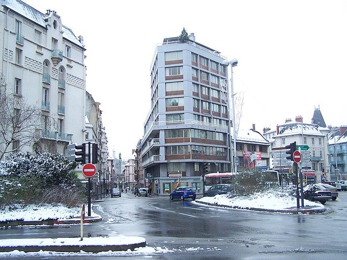Place de la Libération de Chambéry (hiver 2007).JPG