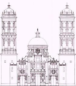 Catedral de Puebla  Wikipedia la enciclopedia libre