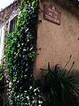 Plaque de rue de montée de la Tubassière à Gassin.jpg
