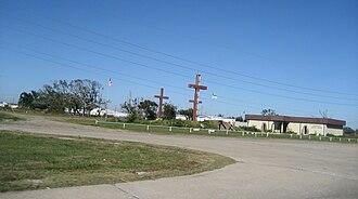 Triumph, Louisiana - The Three Crosses Community Prayer Center, Triumph