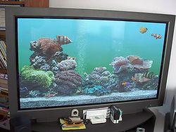 Tela de plasma wikip dia a enciclop dia livre for Aquarium plat