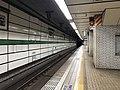 Platform of Okurayama Station (Seishin-Yamate Line) 3.jpg