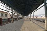 Platform of Yanshan Railway Station (20150105105220).JPG