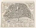 Plattegrond van Keulen Plan des rues de Cologne (titel op object), RP-P-2015-26-719(V).jpg