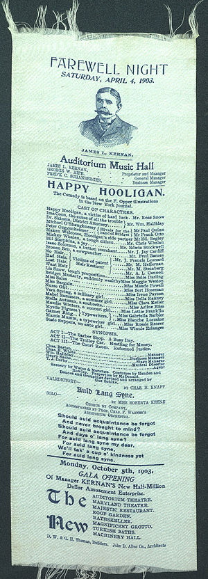 Happy Hooligan - Theater ribbon for play based on the comic strip