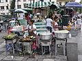 Plaza Solidaridad en Cuauhtémoc - Grilled corn - 2.JPG