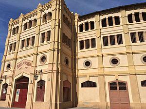 Plaza de Toros de Murcia - Main façade