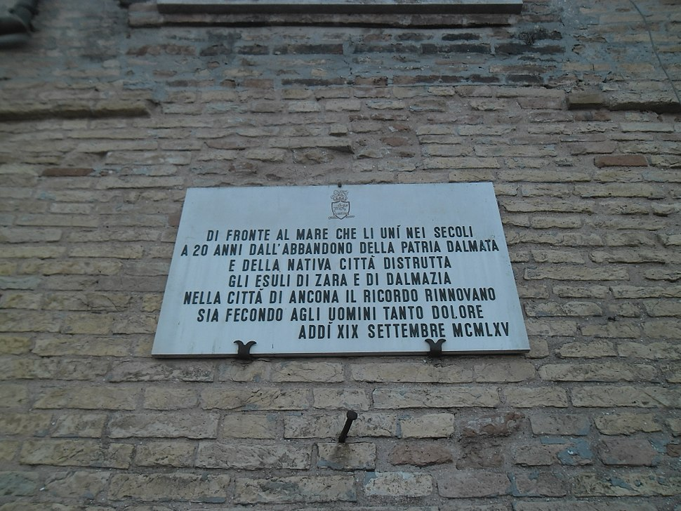 Ploča u Anconi