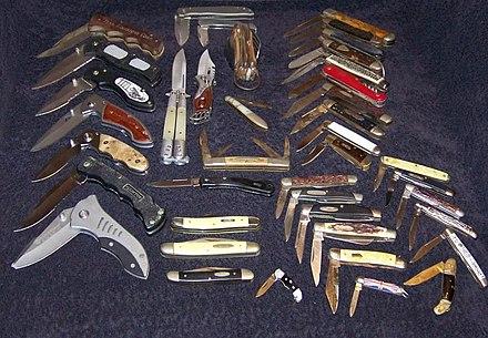 Knives Wikivisually