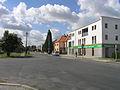 Poděbrady, Nymburské Předměstí, Husova street, intersection.jpg