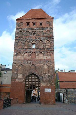 Chojnice - Człuchów Gate (Schlochauer Tor)
