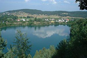 Wolin National Park - Turquoise Lake (Polish: Jezioro Turkusowe)
