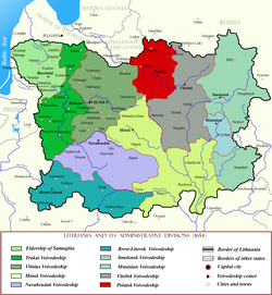 Polatsk Voivodeship within Lithuania in the 17th century.png