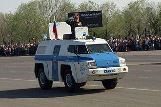 "SOBR - GАZ-3934 ""Siam"" SOBR vehicle"