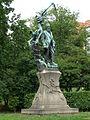 Pomník Svatopluka Čecha, Praha 2-Vinohrady, sady Svatopluka Čecha.JPG