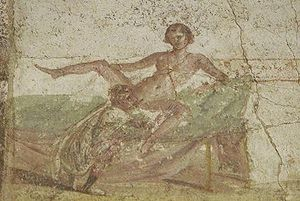 Pompeii oral sex depiction