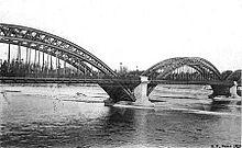 Elegant The Rhône In Lyon Under The Old Boucleu0027s Bridge
