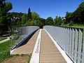 Ponte del Chilometro della Conoscenza (KmC), l'accesso a villa del Grumello.jpg