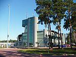 Port lotniczy w Bydgoszczy-wieża kontroli lotów.jpg