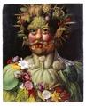 Porträtt. Rudolph II som Vertumnus. Guiseppe Arcimboldo - Skoklosters slott - 39253.tif