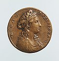 Portrait medal of Dido, Queen of Carthage (obverse); A View of Carthage (reverse) MET DP-1241-011.jpg