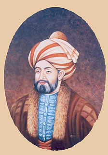 Ahmad Shah Durrani founder of the Durrani Empire, considered founder of the state of Afghanistan