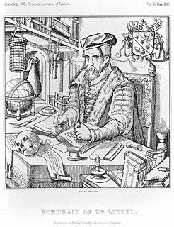 Duncan Liddel Scottish mathematician and physician