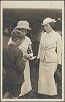 Portrait of Nancy Bird and Jean Batten with unidentified boy, 193-? The Leicagraph Co (15669872733).jpg