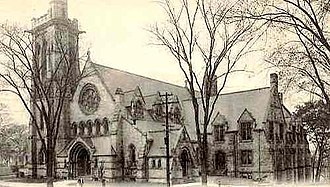 Ansonia, Connecticut - Christ Episcopal Church (1896), Henry Martyn Congdon, architect.