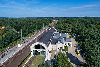 Royal train - Private railway station of Kaiser Wilhelm II. In Potsdam