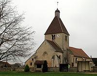 Pourlans Kirche mit Umgebung.JPG