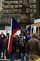 Praha, Václavské náměstí, říjnová demonstrace proti přijetí uprchlíků.jpg
