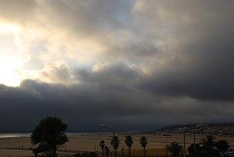 Figueira da Foz - Buarcos Beach before a storm