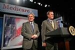President George W. Bush Discusses Medicare Prescription Drug Benefit.jpg