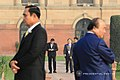 President Rodrigo Roa Duterte makes his way to the Mughal garden of the Rashtrapati Bhavan.jpg