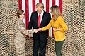 President Trump the First Lady Visit Troops in Iraq (31562951967).jpg