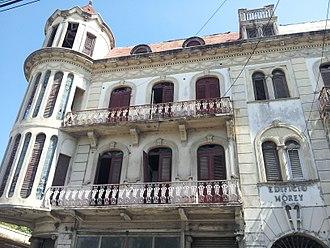 San Pedro de Macorís - Morey building.