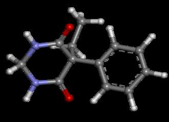Primidone - Image: Primidone ball and stick