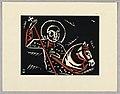 "Print, Svaty Jiri, Saint George, Plate VIII, ""Ethiopie, cili Christos, Madonna a Svati, jak jsem ie videl v illuminacich starych ethiopskych kodexu"" Portfolio, 1920 (CH 18684925-2).jpg"