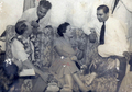 Probir Sen with Sir Donald and Lady Bradman.png