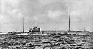 French submarine Prométhée (Q153) - Image: Promethee 1932