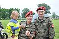 Promocja Żandarmerii Wojskowej wśród dzieci (01).jpg