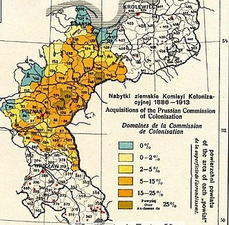 Prussian Settlement Commission - Acquisitions of the Prussian Settlement Commission