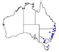Pseudosuccinea columella map Australia.png