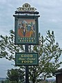 Pub sign, Rochdale Road, Burnedge - geograph.org.uk - 237580.jpg